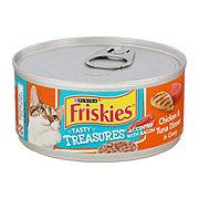 Purina Friskies Tasty Treasures Chicken & Tuna with Bacon Cat Food