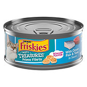 Purina Friskies Tasty Treasures Ocean Fish, Tuna and Cheese in Sauce Cat Food