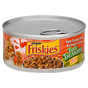 Purina Friskies Tasty Treasures with Cheese Chicken & Tuna with Cheese in Gravy Cat Food