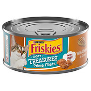 Purina Friskies Tasty Treasures with Chicken & Cheese in Gravy Cat Food