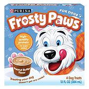 Purina Frosty Paws Peanut Butter Flavor Frozen Dog Treats