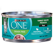 Purina One Grain Free Classic Turkey Recipe Premium Cat Food
