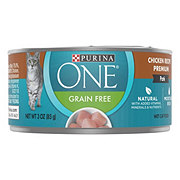 Purina One Smart Blend Premium Cat Food Pate Classic Chicken Recipe