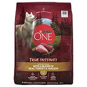 Purina One Smart Blend True instinct Turkey & Venison Adult Dog Food