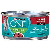 Purina One Smart Grain Free Classic Beef Recipe Premium Cat Food