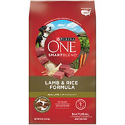 Purina ONE SmartBlend Adult Lamb and Rice Formula Dog Food