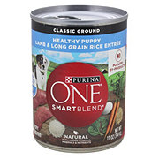 Purina One SmartBlend Healthy Puppy Natural Classic Ground Lamb & Long Grain Rice Wet Puppy Food