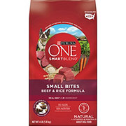 Purina ONE SmartBlend Natural Small Bites Beef & Rice Dry Dog Food