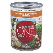 Purina One SmartBlend Tender Cuts Chicken & Brown Rice in Gravy Wet Dog Food