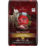Purina One SmartBlend True Instinct Natural Turkey & Venison Dry Dog Food