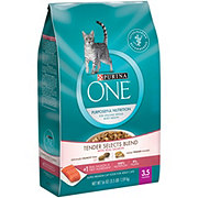 Purina ONE Tender Selects Blend with Real Salmon Cat Food