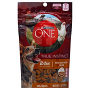 Purina One True Instinct Bites White Meat Chicken Recipe Treats