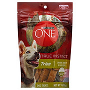 Purina One True Instinct Trios Chicken Turkey & Duck Recipe Treats