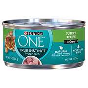 Purina One True Instinct Turkey Recipe Premium Cat Food