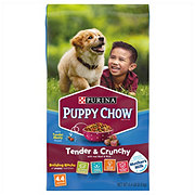 Purina Puppy Chow Healthy Life Nutrition Morsels Soft & Crunchy Bites