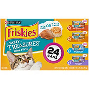 Purina Tasty Treasures with Cheese Cat Food Variety Pack