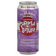 Purple Stuff Pro-Relaxation Formula Berry Calming Soda