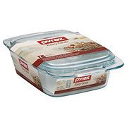 Pyrex 2 qt Easy Grab Casserole With Glass Cover