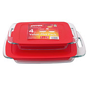 Pyrex Easy Grab Bake N Store Dishes Value-Plus Pack