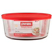 Pyrex Round Storage Glassware With Lid