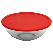 Pyrex Smart Essentials Mixing Bowl with Red Lid