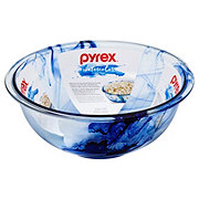 Pyrex Watercolor Collection Blue Lagoon Mixing Bowl