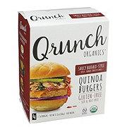 Qrunch Organics Saucy Buffalo Style Quinoa Burgers