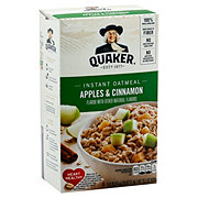 Quaker Apple & Cinnamon Instant Oatmeal Packets