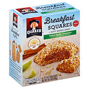 Quaker Breakfast Squares Baked Apple Cinnamon