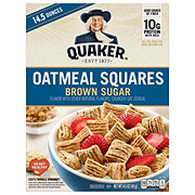 Quaker Brown Sugar Oatmeal Squares Cereal