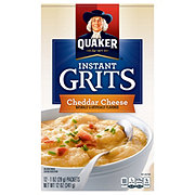 Quaker Cheddar Cheese Flavor Instant Grits Pouches