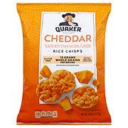 Quaker Cheddar Cheese Rice Crisps