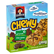 Quaker Chewy Girl Scouts Thin Mints Granola Bars