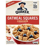 Quaker Cinnamon Oatmeal Squares Cereal