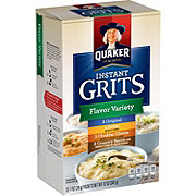 Quaker Flavor Variety Instant Grits Pouches