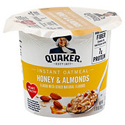 Quaker Honey & Almonds Instant Oatmeal Cup