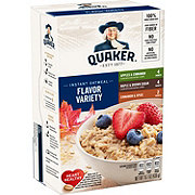 Quaker Instant Oatmeal Flavor Variety Pack