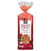 Quaker Large Rice Cakes Garden Tomato And Basil