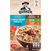 Quaker Lower Sugar Instant Oatmeal Variety Pack