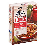 Quaker Multigrain Flakes Cranberry Apple Cereal
