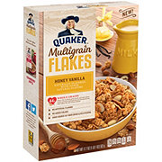 Quaker Multigrain Flakes Original Honey Vanilla Cereal