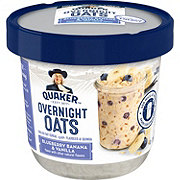 Quaker Overnight Oats Blueberry Banana & Vanilla