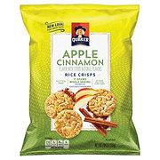 Quaker Popped Rice Crisps, Apple Cinnamon