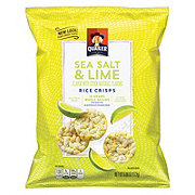 Quaker Popped Rice Crisps Sea Salt And Lime