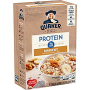 Quaker Protein Banana Nut Instant Oatmeal