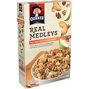 Quaker Real Medleys Peach Apple Walnut Multigrain Cereal