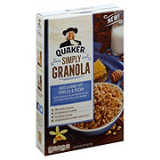 Quaker Simply Granola Honey Vanilla Pecan Ceral