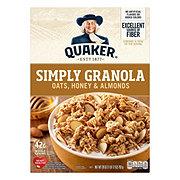 Quaker Simply Granola Oats Honey & Almonds Cereal