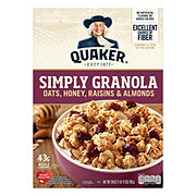 Quaker Simply Granola Oats Honey Raisins & Almonds