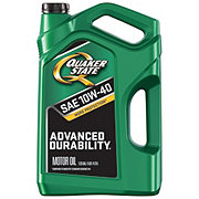 Quaker State Advanced Durability SAE 10W-40 Motor Oil
